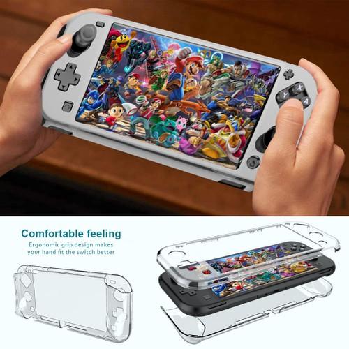 Vỏ bảo vệ trong suốt cho máy chơi game nintendo switch mini lite