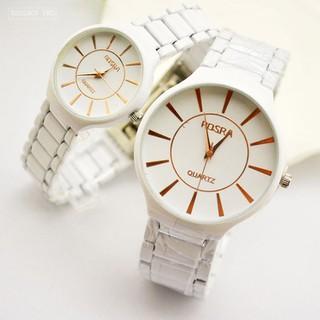 Đồng hồ đôi dây gốm thạch anh dành cho học sinh, sinh viên Rosra - Rosra thumbnail