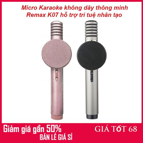 Micro karaoke không dây thông minh remax k07 hỗ trợ trí tuệ nhân tạo - 19528172 , 24888739 , 15_24888739 , 709000 , Micro-karaoke-khong-day-thong-minh-remax-k07-ho-tro-tri-tue-nhan-tao-15_24888739 , sendo.vn , Micro karaoke không dây thông minh remax k07 hỗ trợ trí tuệ nhân tạo