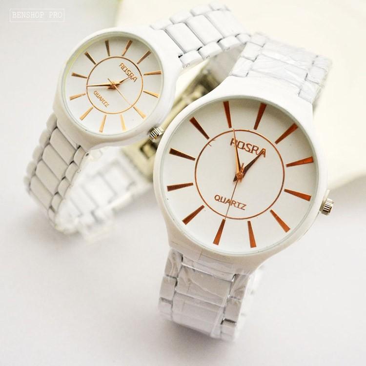 Đồng hồ đôi dây gốm thạch anh dành cho học sinh, sinh viên Rosra - Rosra 1