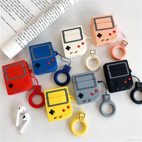 Vỏ silicon bọc hộp đựng tai nghe cho airpods hình máy chơi game retro độc đáo - 19772891 , 24918246 , 15_24918246 , 47215 , Vo-silicon-boc-hop-dung-tai-nghe-cho-airpods-hinh-may-choi-game-retro-doc-dao-15_24918246 , sendo.vn , Vỏ silicon bọc hộp đựng tai nghe cho airpods hình máy chơi game retro độc đáo
