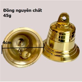 Chuông đồng phong thủy, Chuông đồng nhỏ Vàng Kim loại cho Nhà thờ 206723-1 nhỏ - 206723-1 thumbnail