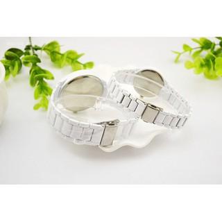 Đồng hồ đôi dây gốm thạch anh dành cho học sinh, sinh viên Rosra - Rosra 4