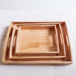 Khay gỗ đa năng chữ nhật