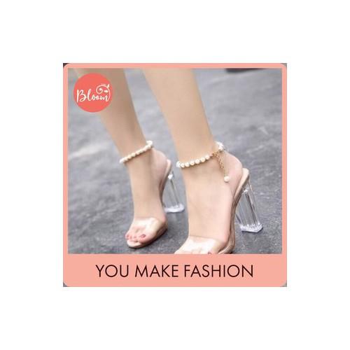 Giày cao gót nữ đẹp giày cao gót dự tiệc bloom sandal 9 phân bản trong vòng chuỗi tặng kèm thắt lưng - 19797336 , 24947319 , 15_24947319 , 255000 , Giay-cao-got-nu-dep-giay-cao-got-du-tiec-bloom-sandal-9-phan-ban-trong-vong-chuoi-tang-kem-that-lung-15_24947319 , sendo.vn , Giày cao gót nữ đẹp giày cao gót dự tiệc bloom sandal 9 phân bản trong vòng chu