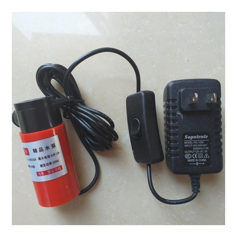 Máy Bơm Nước Mini 12VBơm nước cho máy cắt rãnh tường – KK3029