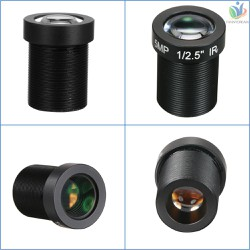 F D HD 5 0Megapixel 5MP 16mm M12 CCTV Board Lens IP Camera Lens F2 0 Fixed Iris M12 P0 5 1 2 5 Image Format 96° Viewing