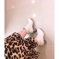 Giày boot nữ lót lông