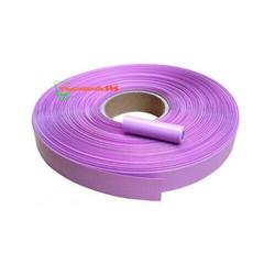 Màng Co Nhiệt PVC Cách Điện Bọc Cell Pin 18650 30mm Hồng - 1 Mét