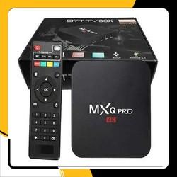 Android Box TV MXQ pro 4K giá rẻ chất lượng tốt- TV Box MXQ 4K Pro 64bit Chip S905