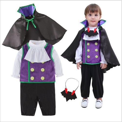 Set đồ 4 món hoá trang halloween cho bé