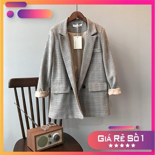 Áo khoác vest, blazer nữ | hàng cao cấp|áo blazer nữ kẻ caro đẹp, chất vải dày dặn, có lớp lót bên trong, phong cách hàn quốc - 19835500 , 24995919 , 15_24995919 , 600000 , Ao-khoac-vest-blazer-nu-hang-cao-capao-blazer-nu-ke-caro-dep-chat-vai-day-dan-co-lop-lot-ben-trong-phong-cach-han-quoc-15_24995919 , sendo.vn , Áo khoác vest, blazer nữ | hàng cao cấp|áo blazer nữ kẻ caro