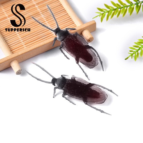 Meteorite 10pcs simulation cockroach halloween jokes prank trick props