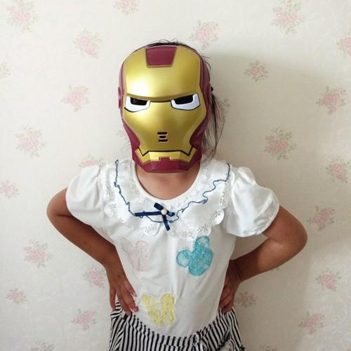 Mặt nạ hóa trang siêu anh hùng cho bé