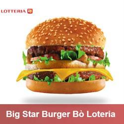 [Toàn Quốc] Evoucher Lotteria - Big Star Burger Bò