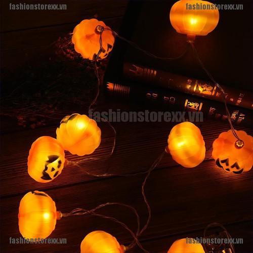 Fasi halloween pumpkin led string light halloween crazy halloween party decoration vn