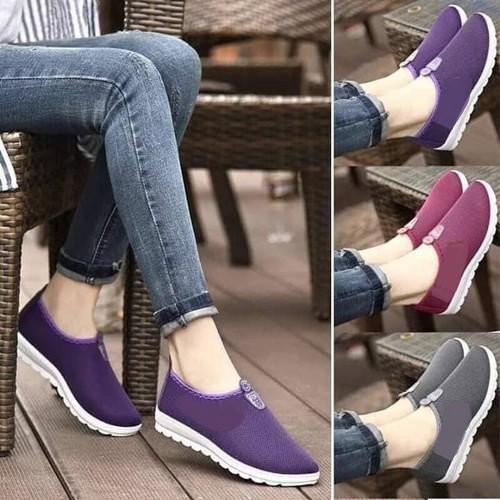 [Siêu sale][pvc giảm 20k] giày lười nữ thể thao cao cấp size 36,37,38,39.40