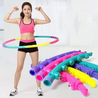 Vòng lắc eo giảm cân bằng nhựa Hoop- Vòng massage lắc giảm eo thon gọn - VLE001-1-vòng lắc eo thumbnail