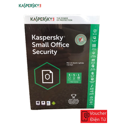 Mã code Phần mềm KASPERSKY SMALL OFFICE SECURITY 05PC + 01FILE SERVER - KSOS5PC