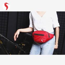 Túi bao tử, túi đeo hông, túi đeo bụng SIVA hill Red