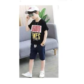 SÉT BỘ quần áo trẻ em in hình GOOD TIMES dành cho bé trai 18-28kg thiết kế hợp thời trang - BỘ NHỠ GOOD TIMES