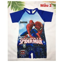 Đồ bơi bé trai liền thân hình siêu nhân - Mc queen 12-27kg - Red Ant Kids
