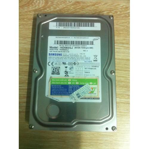 Ổ cứng hdd 80gb cho pc, desktop - hdd 80gb