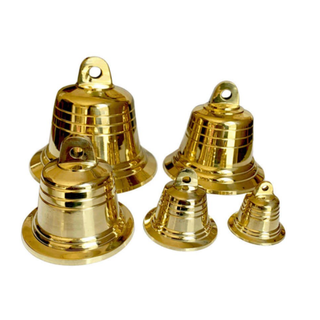Chuông đồng phong thủy, Chuông đồng nhỏ Vàng Kim loại cho Nhà thờ 206723-2 [ĐƯỢC KIỂM HÀNG] 24980419 - 24980419 thumbnail
