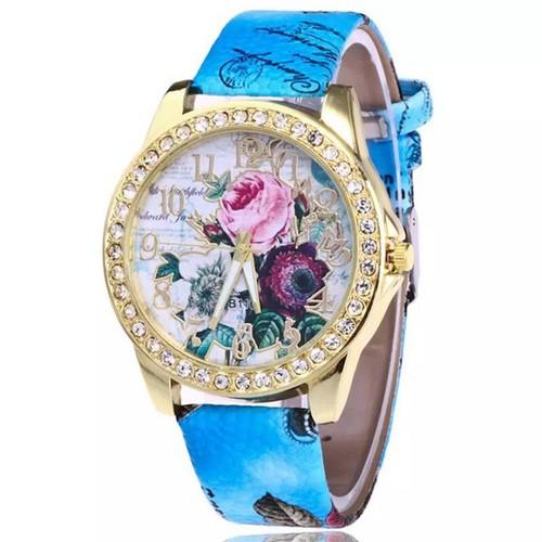 Đồng hồ thời trang nữ họa tiết hoa hồng phong cách châu âu cực đẹp dh93 - 19815467 , 24970781 , 15_24970781 , 89000 , Dong-ho-thoi-trang-nu-hoa-tiet-hoa-hong-phong-cach-chau-au-cuc-dep-dh93-15_24970781 , sendo.vn , Đồng hồ thời trang nữ họa tiết hoa hồng phong cách châu âu cực đẹp dh93
