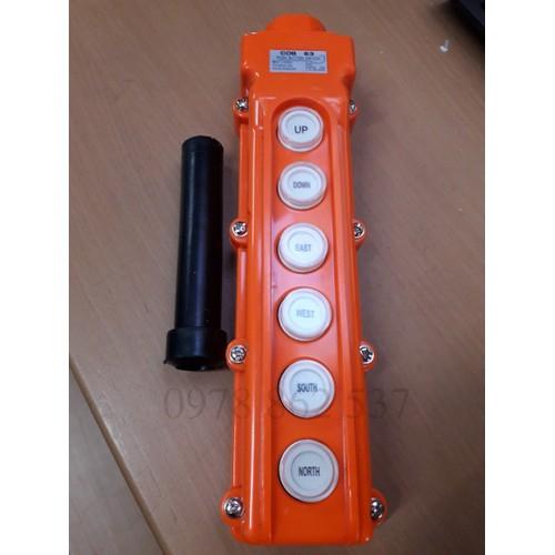 Tay điều khiển cẩu trục cob 63 - 6 nút điều khiển - 19832361 , 24991545 , 15_24991545 , 75000 , Tay-dieu-khien-cau-truc-cob-63-6-nut-dieu-khien-15_24991545 , sendo.vn , Tay điều khiển cẩu trục cob 63 - 6 nút điều khiển