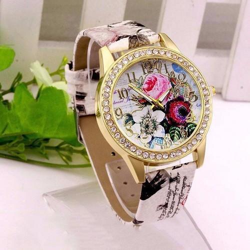 Đồng hồ thời trang nữ họa tiết hoa hồng phong cách châu âu cực đẹp dh93 - 19813731 , 24968485 , 15_24968485 , 159000 , Dong-ho-thoi-trang-nu-hoa-tiet-hoa-hong-phong-cach-chau-au-cuc-dep-dh93-15_24968485 , sendo.vn , Đồng hồ thời trang nữ họa tiết hoa hồng phong cách châu âu cực đẹp dh93