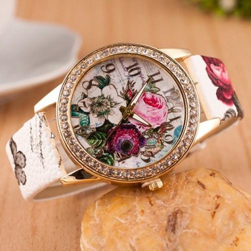 Đồng hồ thời trang nữ họa tiết hoa hồng phong cách châu âu cực đẹp dh93 - 19813452 , 24968137 , 15_24968137 , 120000 , Dong-ho-thoi-trang-nu-hoa-tiet-hoa-hong-phong-cach-chau-au-cuc-dep-dh93-15_24968137 , sendo.vn , Đồng hồ thời trang nữ họa tiết hoa hồng phong cách châu âu cực đẹp dh93