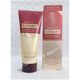 Gel Tẩy Da Chết 3W Clinic Collagen Crystal Peeling Gel - Tẩy Da Chết 3W
