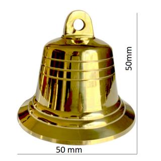 Chuông đồng phong thủy, Chuông đồng nhỏ Vàng Kim loại cho Nhà thờ 206723-2 to - 206723-2 thumbnail