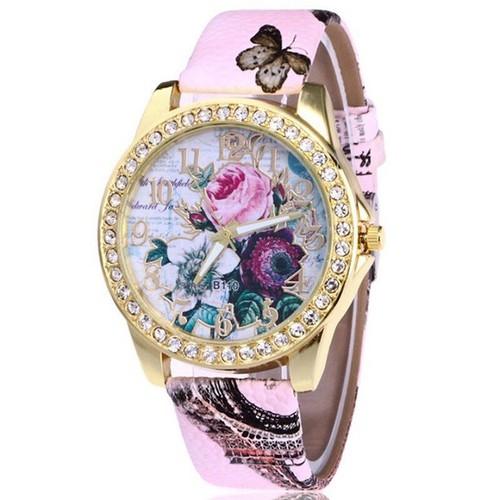 Đồng hồ thời trang nữ họa tiết hoa hồng phong cách châu âu cực đẹp dh93 - 19814951 , 24970103 , 15_24970103 , 115000 , Dong-ho-thoi-trang-nu-hoa-tiet-hoa-hong-phong-cach-chau-au-cuc-dep-dh93-15_24970103 , sendo.vn , Đồng hồ thời trang nữ họa tiết hoa hồng phong cách châu âu cực đẹp dh93