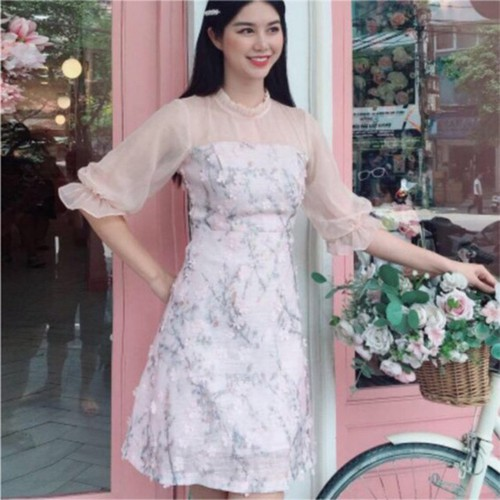 Váy hoa nổi phong cách hàn quốc cực xinh, cực sang chảnh - 19834393 , 24994362 , 15_24994362 , 350000 , Vay-hoa-noi-phong-cach-han-quoc-cuc-xinh-cuc-sang-chanh-15_24994362 , sendo.vn , Váy hoa nổi phong cách hàn quốc cực xinh, cực sang chảnh