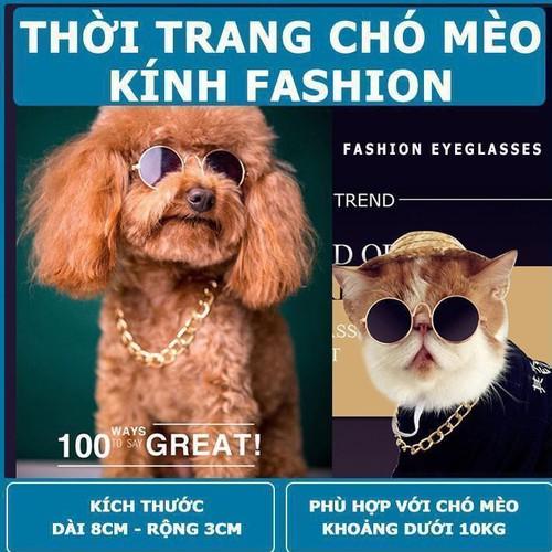 Thời trang chó mèo kính thầy bói xem voi cho chó mèo dưới 10 kg