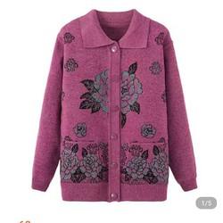 Áo khoác len cho người lớn tuổi