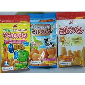 Bánh mì tươi Canet nhập Nhật cho bé ăn dặm - gói 45g - BA006