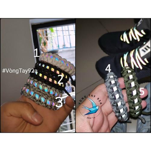 Vòng đeo tay paracord phản quang unisex có giá sỉ - 19851524 , 25015137 , 15_25015137 , 39000 , Vong-deo-tay-paracord-phan-quang-unisex-co-gia-si-15_25015137 , sendo.vn , Vòng đeo tay paracord phản quang unisex có giá sỉ
