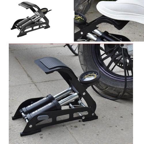Bơm hơi đạp chân đa năng mini cho ô tô xe máy honor 2 ống - 19841465 , 25003600 , 15_25003600 , 199000 , Bom-hoi-dap-chan-da-nang-mini-cho-o-to-xe-may-honor-2-ong-15_25003600 , sendo.vn , Bơm hơi đạp chân đa năng mini cho ô tô xe máy honor 2 ống