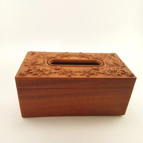 Hộp giấy ăn - hộp giấy ăn bằng gỗ - hộp đựng giấy ăn bằng gỗ hương - hộp gỗ đựng giấy ăn - gỗ hương - chạm hoa hồng - 19846620 , 25009233 , 15_25009233 , 380000 , Hop-giay-an-hop-giay-an-bang-go-hop-dung-giay-an-bang-go-huong-hop-go-dung-giay-an-go-huong-cham-hoa-hong-15_25009233 , sendo.vn , Hộp giấy ăn - hộp giấy ăn bằng gỗ - hộp đựng giấy ăn bằng gỗ hương - hộp g