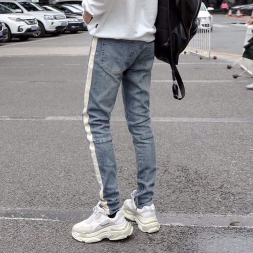 hàng cao cấpcho kiểm tra hàngquần jeans ống zipper