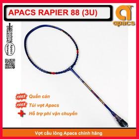 [Vợt cầu lông Apacs Rapier 88 - 3U] Vợt 3U giá rẻ nhất so với các dòng vợt trên thị trường - APRAPIER883u