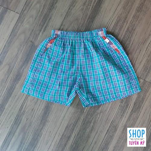 Quần sọc ngắn cho bé trai, bé gái dưới 15kg - mặc kết hợp với áo thun 3 lỗ - giao mẫu ngẫu nhiên