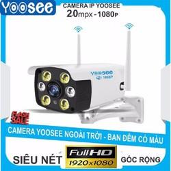 [Sale] Camera Yoosee ngoài trời W26S 2.0Mpx Full HD 1080P tiếng Việt  siêu nét có màu ban đêm