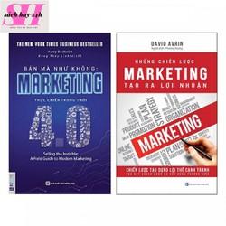 Combo 2 Cuốn Sách Về Marketing:Bán mà Như không Và Những chiến lược Marketing tạo ra lợi nhuận