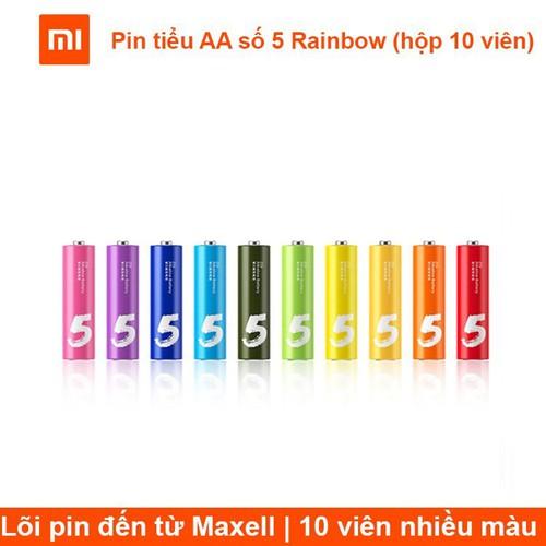 Mới về pin tiểu aa số 5 rainbow hộp 10 viên chính hãng - 19863709 , 25029510 , 15_25029510 , 55000 , Moi-ve-pin-tieu-aa-so-5-rainbow-hop-10-vien-chinh-hang-15_25029510 , sendo.vn , Mới về pin tiểu aa số 5 rainbow hộp 10 viên chính hãng