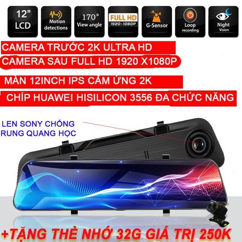 Camera hành trình ô tô dạng gương, tích hợp 4g màn hình 12inch 2k ultrahd cực nét - ống kính đảo ngược kép tự động cho ô tô, xe hơi - 19867701 , 25034594 , 15_25034594 , 4000000 , Camera-hanh-trinh-o-to-dang-guong-tich-hop-4g-man-hinh-12inch-2k-ultrahd-cuc-net-ong-kinh-dao-nguoc-kep-tu-dong-cho-o-to-xe-hoi-15_25034594 , sendo.vn , Camera hành trình ô tô dạng gương, tích hợp 4g màn