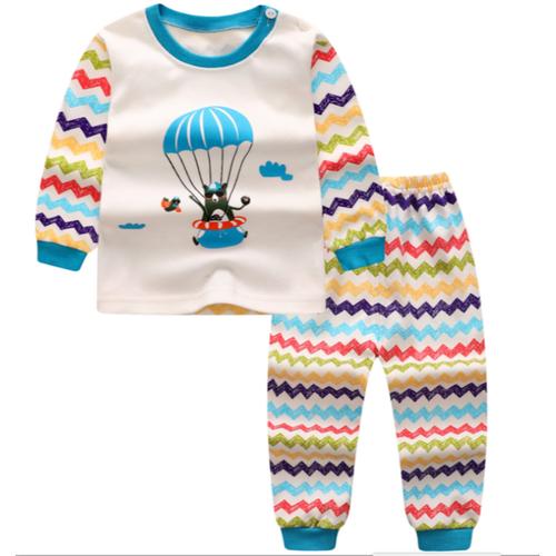 Bộ quần áo trẻ em dài tay cao cổ thu đông gấu nhẩy dù đáng yêu cho bé trai bé gái - 19868717 , 25035884 , 15_25035884 , 80000 , Bo-quan-ao-tre-em-dai-tay-cao-co-thu-dong-gau-nhay-du-dang-yeu-cho-be-trai-be-gai-15_25035884 , sendo.vn , Bộ quần áo trẻ em dài tay cao cổ thu đông gấu nhẩy dù đáng yêu cho bé trai bé gái